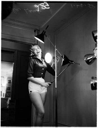 Lamp show, 1958
