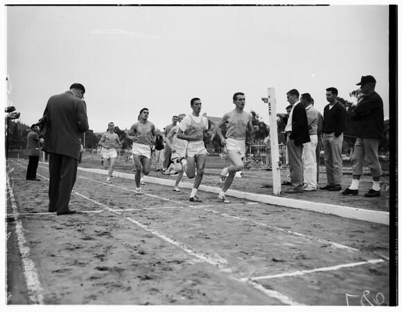 Track -- Bruins vs. Striders, 1957