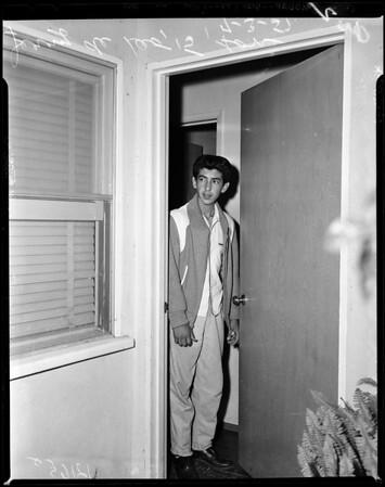 Woman murdered in Baldwin Park home, 1956