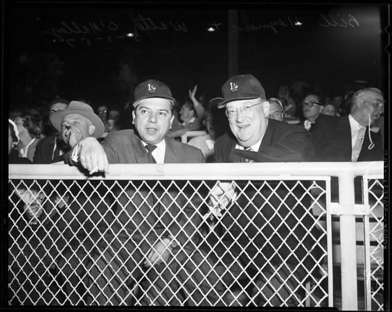 O'Malley at Wrigley, 1957