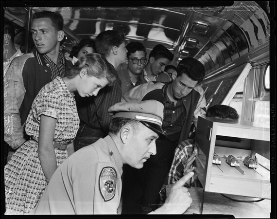 Hamilton High School safety campaign, 1957