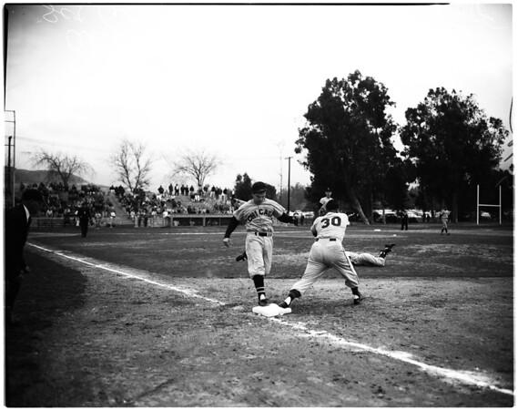 Baseball -- All Star Game, 1958