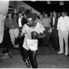 Boxing - Kid Bassey workout, 1958