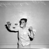 "Advance art for 1958 ""yo-yo"" contest taken at Echo Playground, 1958"