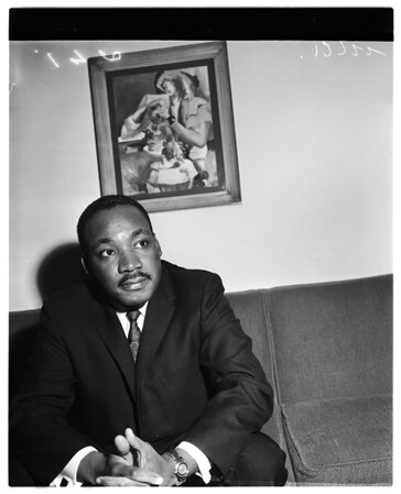 Martin Luther King (Negro leader), 1960