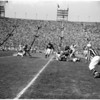 Football - Rams versus Philadelphia Eagles, 1957