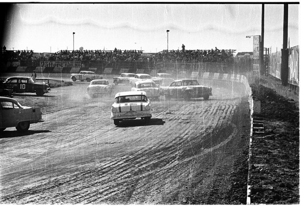 Autos -- races -- stock cars, 1958