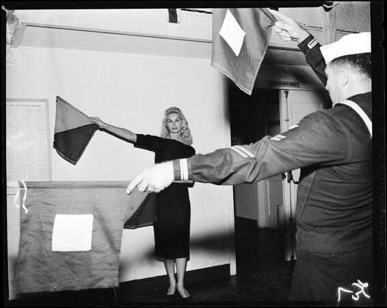 Navy Day (United States Naval Training Center in Santa Monica), 1957