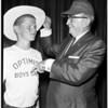 Optimist Home for Boys honor Biscailuz, 1958