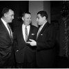 Football - Pro Bowl coaches - luncheon, 1958