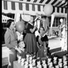 Doll fair, Marlborough School, 1957