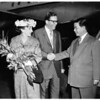 Arrival of President of Republic Vietnam, 1957