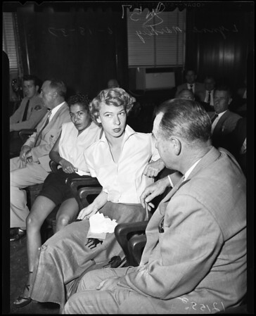 Forging prescription preliminary hearing, 1957