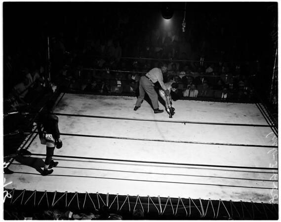 Boxing - Olympic auditorium, 1958