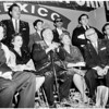 Governor of Baja at sports show, 1960