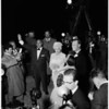 Mansfield -- Hargitay wedding, 1958