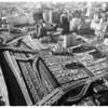 Civic Center parking lots, 1961