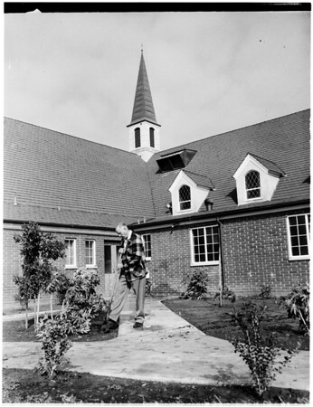Dedication of new Mormon chapel at 1635 West 9th Street in San Pedro, 1958
