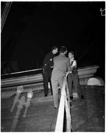 Suicide attempt (Rosslyn Hotel), 1958