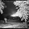 Chatsworth brush fire, 1957
