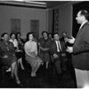 Social workers learn public speaking, 1958
