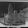 Los Angeles old county courthouse, as it being demolished, 1935