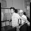 Bel-Air burglars arrested, 1957
