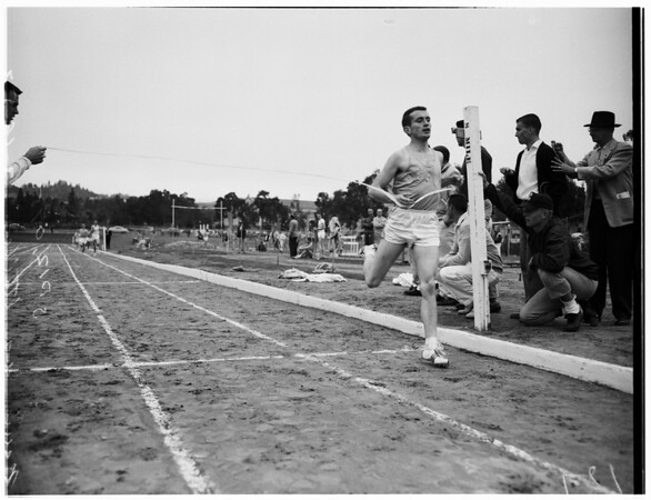Track -- Bruins vs. Striders, 1957