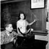 University of California Los Angeles woman physics teacher, 1958