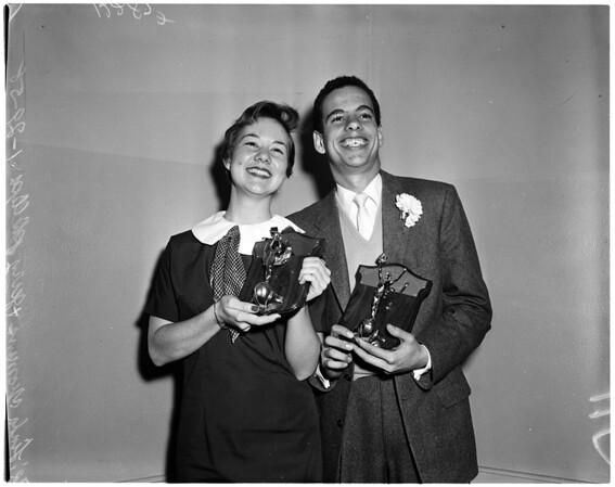 Los Angeles High School seniors awards, 1958