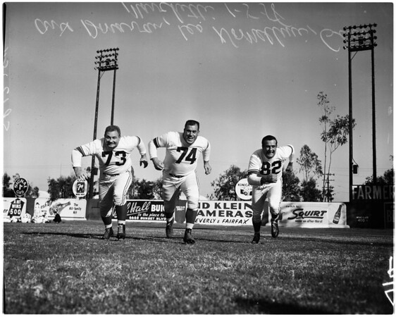 Football -- Pro Bowl Western Squad, 1958