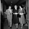 Nancy Valentine divorce, 1958