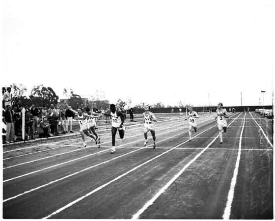 UCLA -- Stanford track meet, 1957