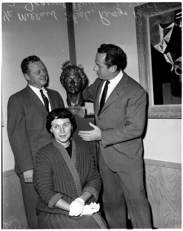 County Art Institute faculty exhibit, 1958