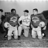 Football - Ohio State squad, 1957