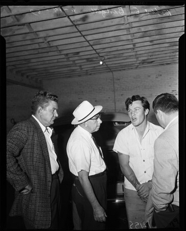 Bel-Air burglars arrested, 1957