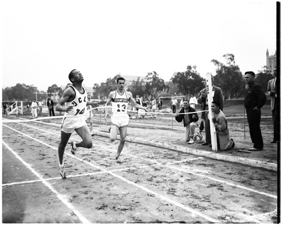 UCLA -- Stanford track meet, 1957