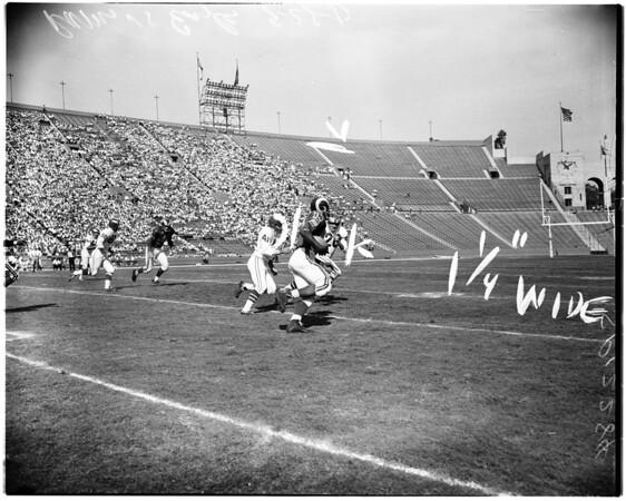 Football - Rams versus Philadelphia Eagles, 1957