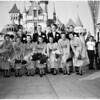 Football - Oregon football team at Disneyland, 1957