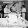 "Internal Revenue Department mail ""candling"" machine, 1958"