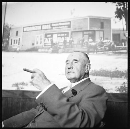 "San Fernando Valley Series (Glickman) ""I remember when..."", 1958."