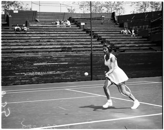 Tennis -- Southern California Championships, 1958