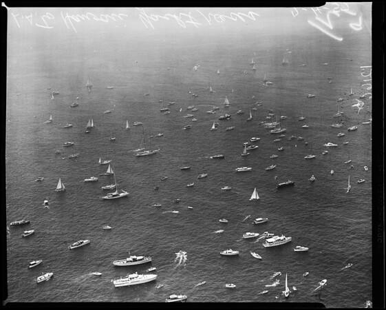 Los Angeles-Honolulu Yacht Race, 1957