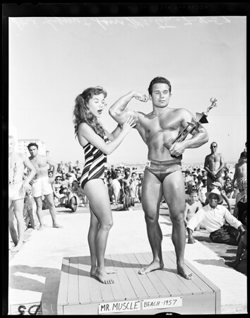 Mr. Muscle Beach, 1957