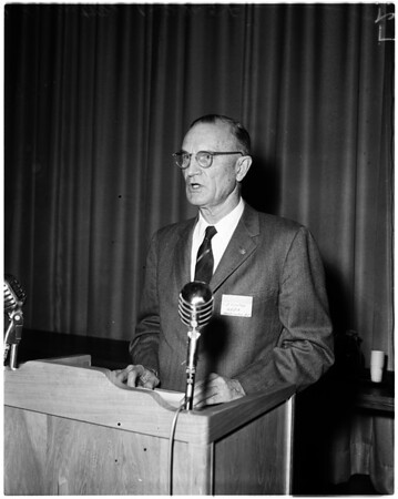 Hiways conference at UCLA, 1958