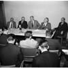 Athletes -- Pacific Coast conference vs UCLA, 1957