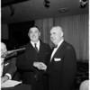 Bar Association at Beverly Hills, 1958
