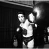 Boxing - Pajarito Moreno in workout, 1958