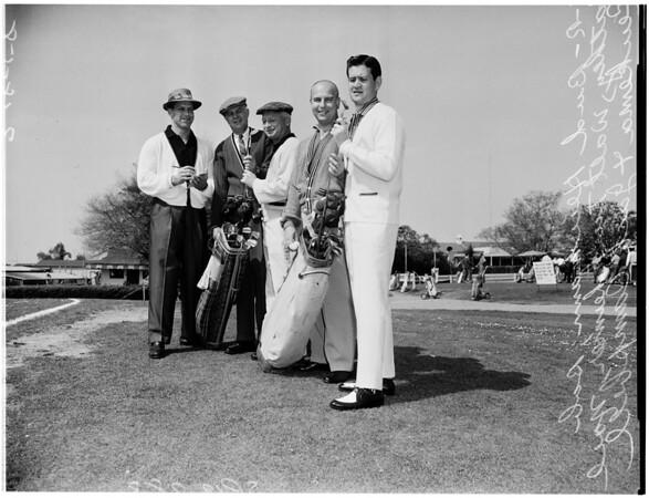 Golf - Men and boys apparel tournament, 1958