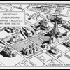 Proposed underground parking facilities and bomb shelter, Los Angeles City Planning Commission, 1951